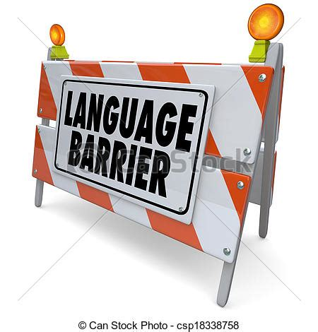 Thesis about language barrier